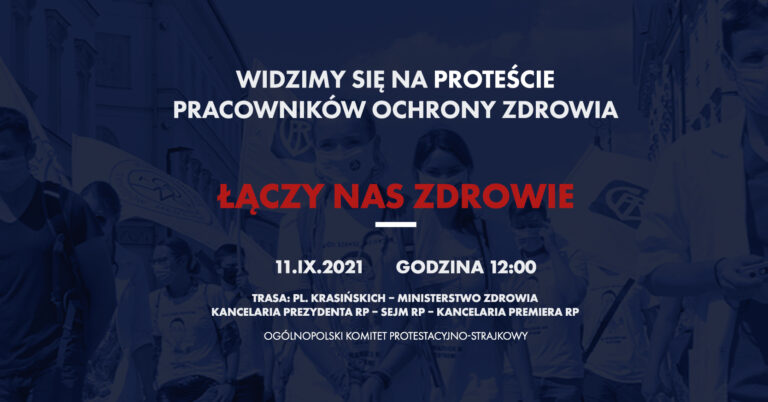 PROTEST 11.09.2021, godz. 12.00, kilka informacji uzupełniających❗️