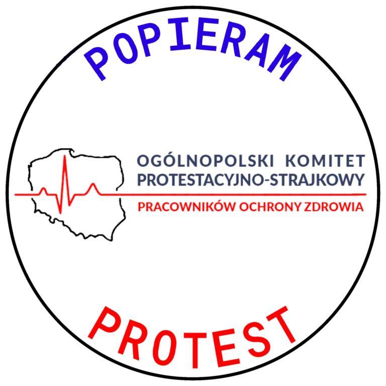 Młodzi solidarnie z protestem medyków